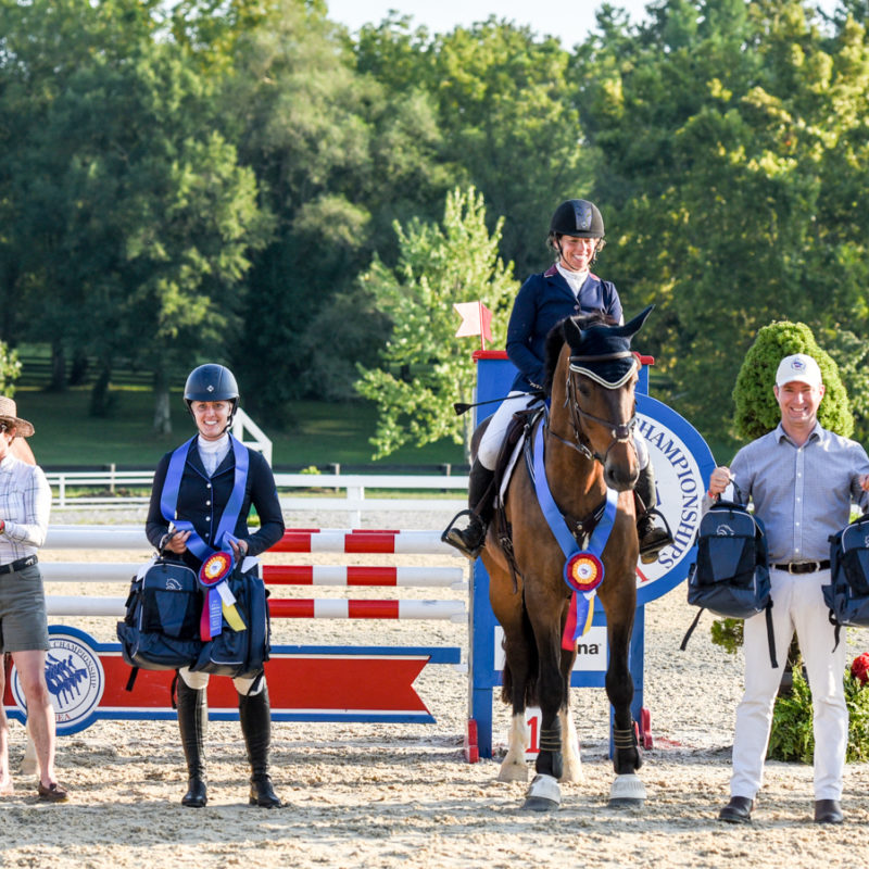 CIC3* - 3rd - William Coleman and Tight Lines - 40.2. Allen MacMillan Photo.