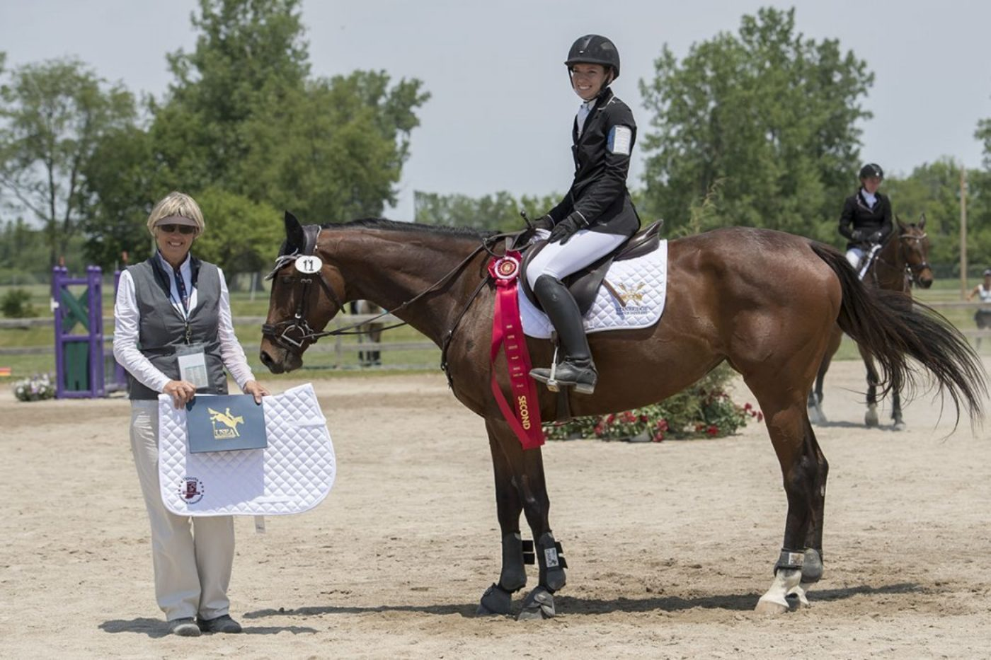 N3D - 2nd - Rebecca Geringer and Hakuna Matata. Allen MacMillan Photo.