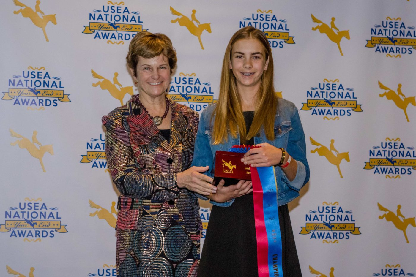 Sophia Merz, Junior Beginner Novice Rider of the Year.