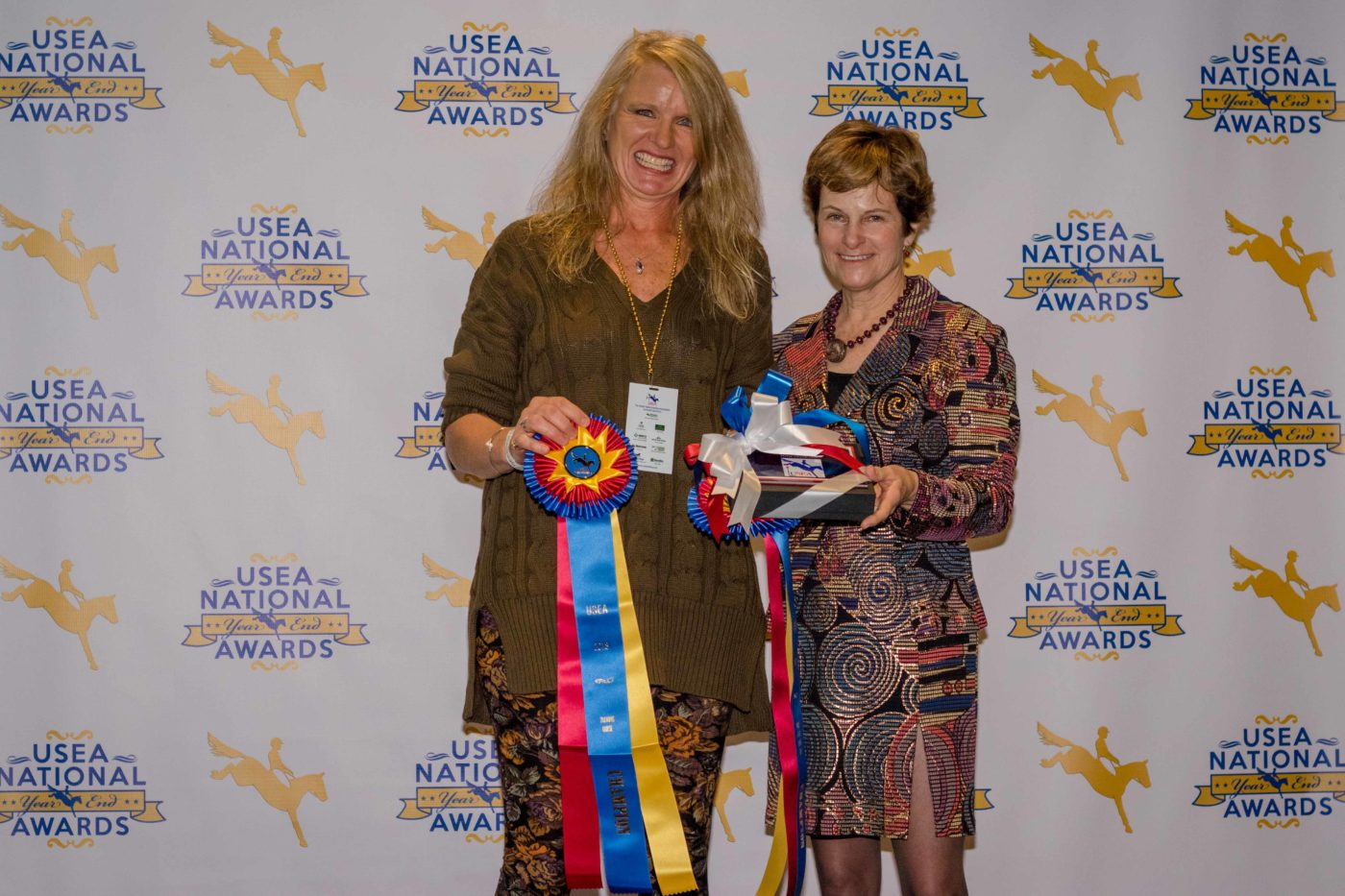 Training Master Rider, Training Master Amateur Rider and owner and rider of Training Horse of the Year, Cindy Phillips.