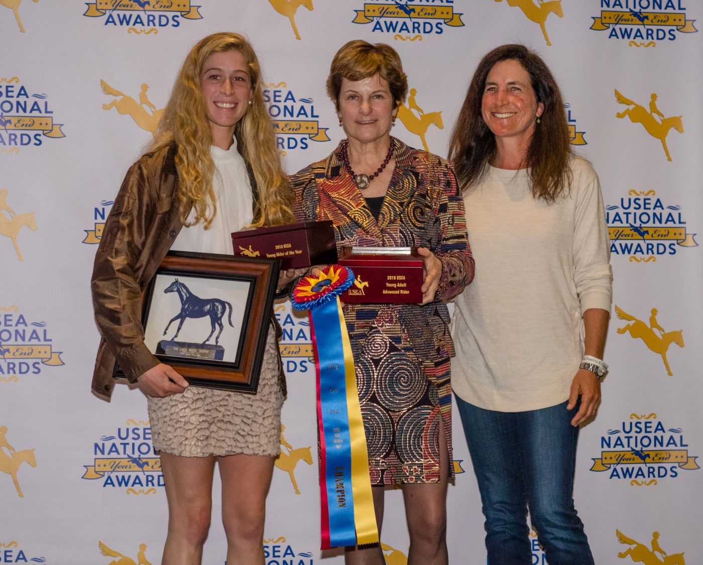 2018 RevitaVet USEA Young Rider of the Year Cornelia Dorr.