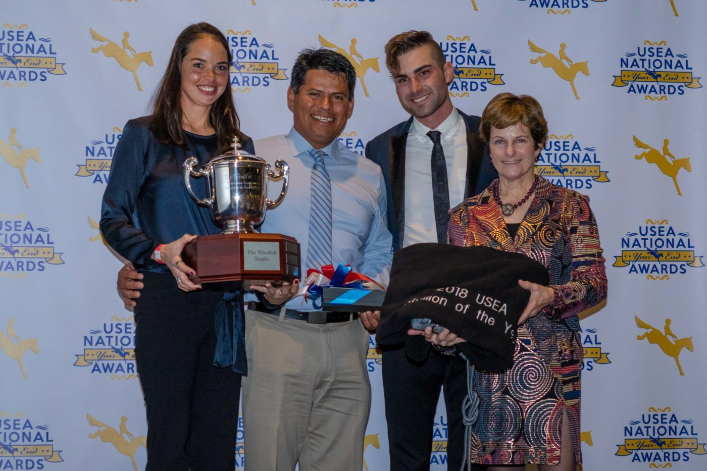 2018 Smartpak USEA Stallion of the Year: Sandro's Star.
