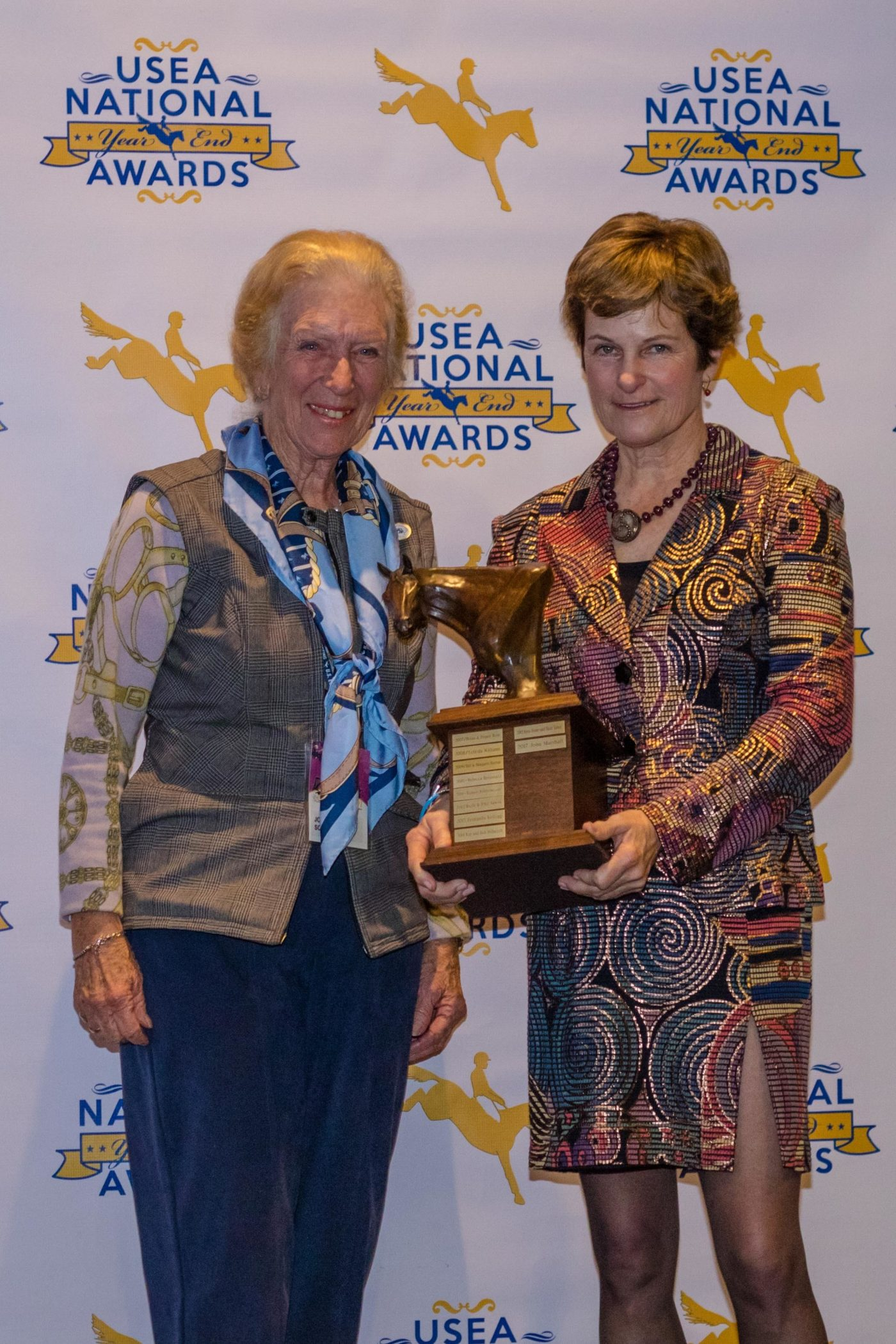 Joannah Hall Glass was the recipient of the Andrew H. Popiel Memorial Trophy.