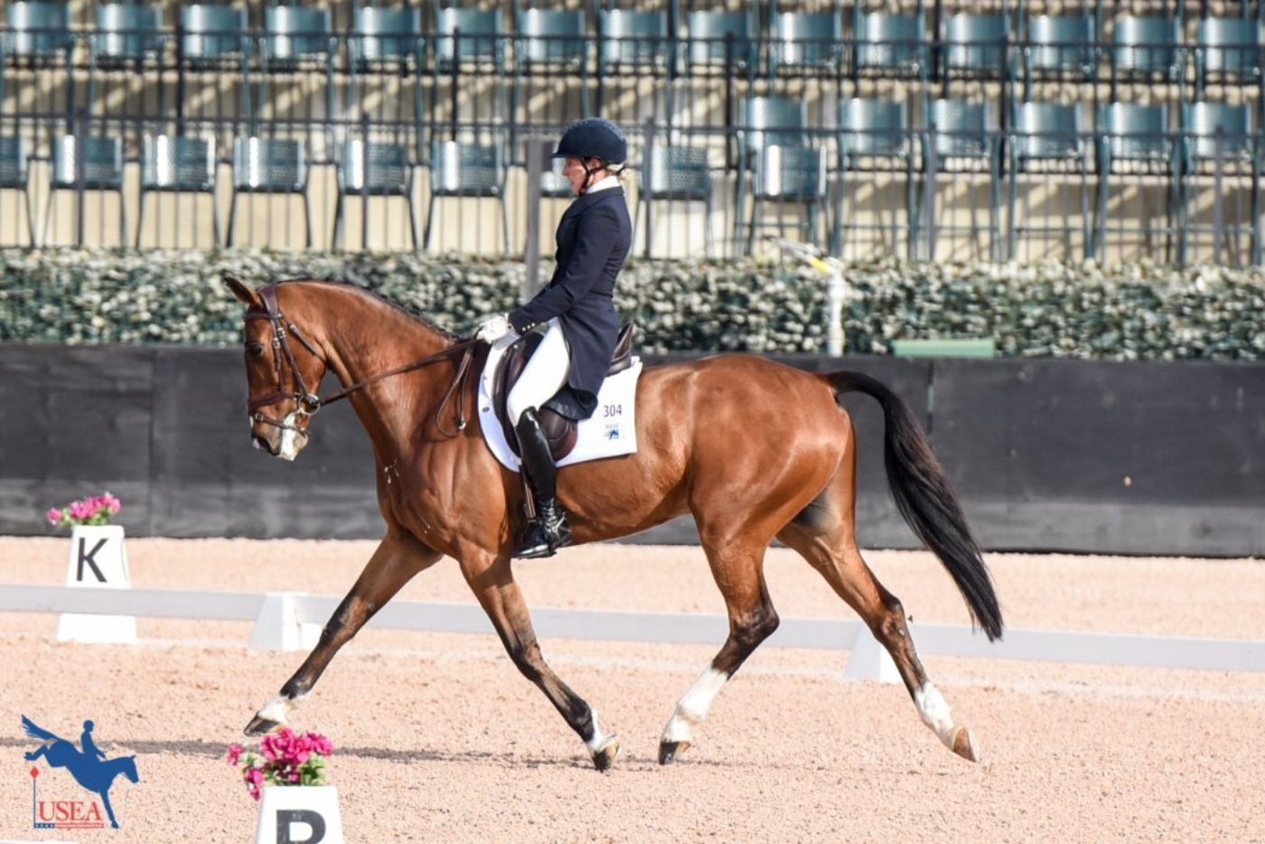 7th - Liz Halliday-Sharp and Deniro Z