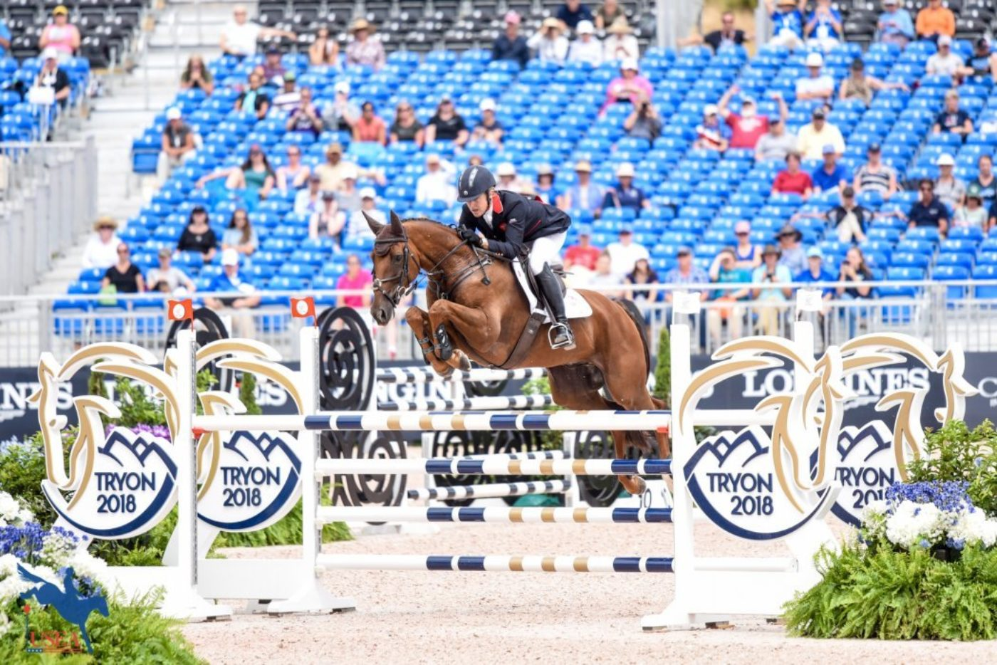 9th - Kristina Cook and Billy the Red (GBR)