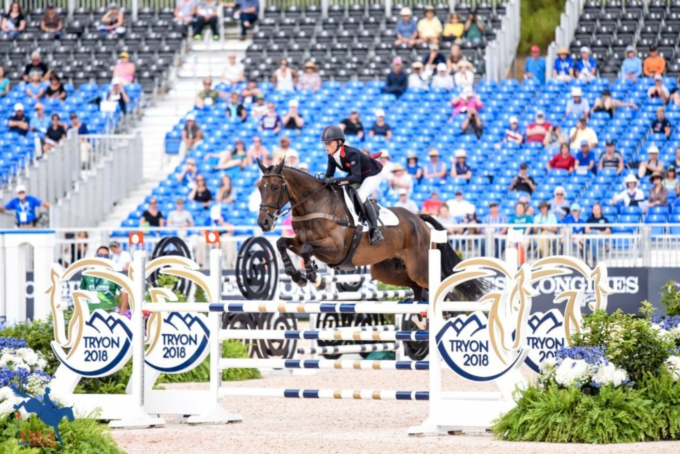 1st - Rosalind Canter and Allstar B (GBR)