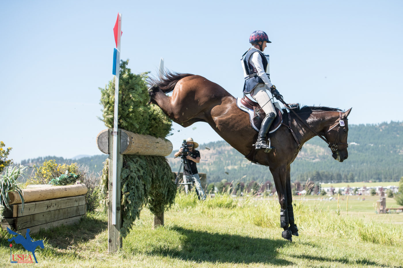 CCI3* - 5th - Andrea Baxter and Indy 500