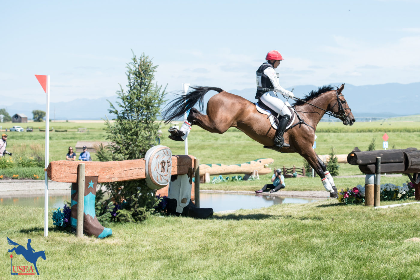 CCI3* - 3rd - Heather Morris and Charlie Tango