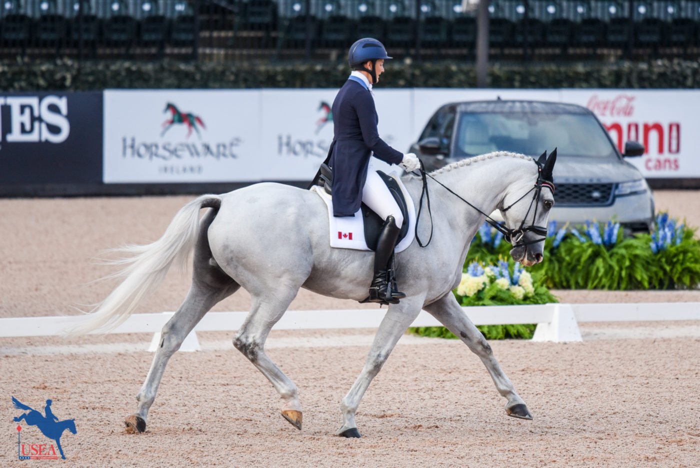 25th - Colleen Loach and Qorry Blue d'Argouges (CAN) - 34.4
