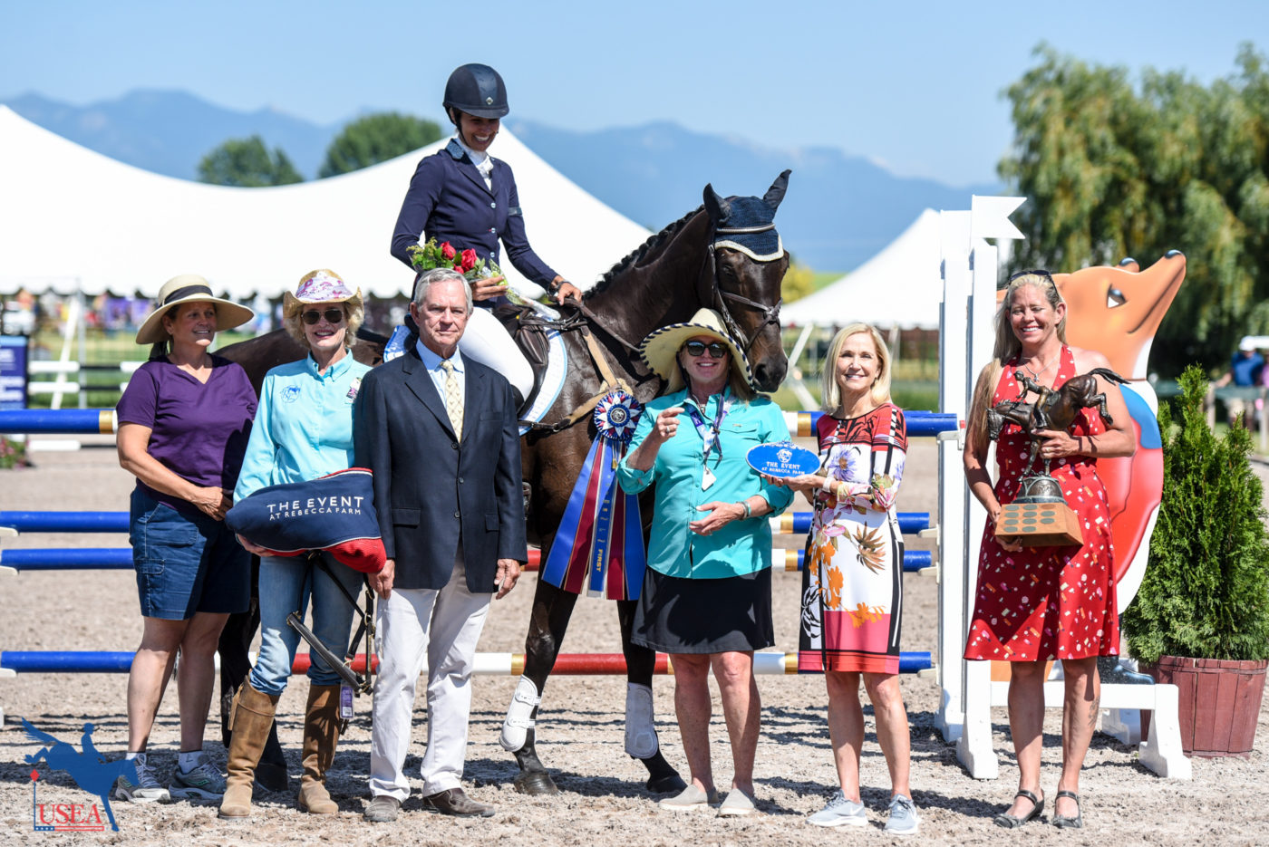 CCI3* - 1st - Frankie Thieriot-Stutes and Chatwin