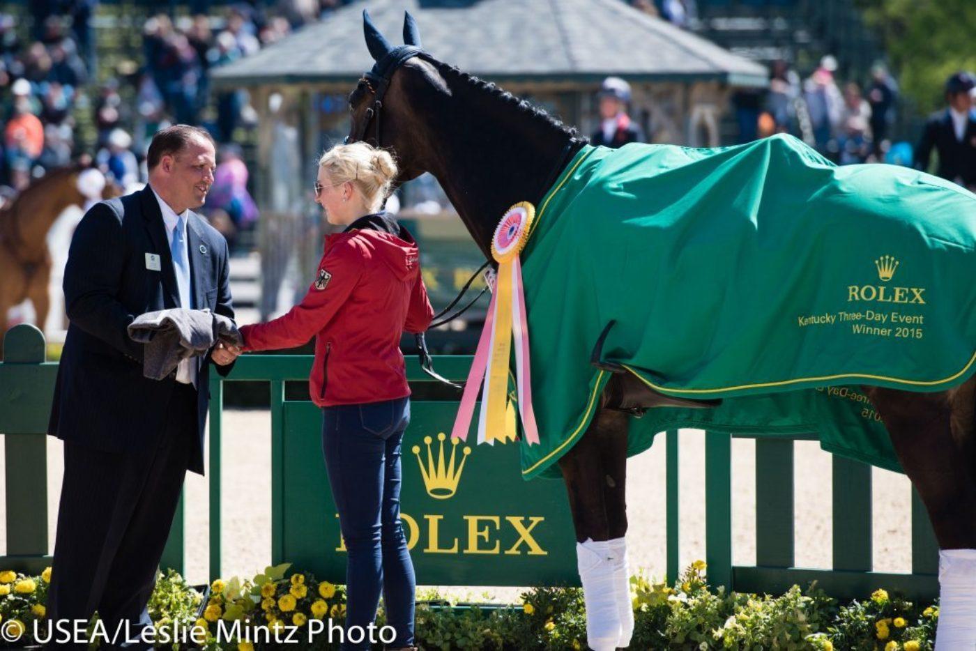 Felix Vogg and Colero. USEA/Leslie Mintz Photo.