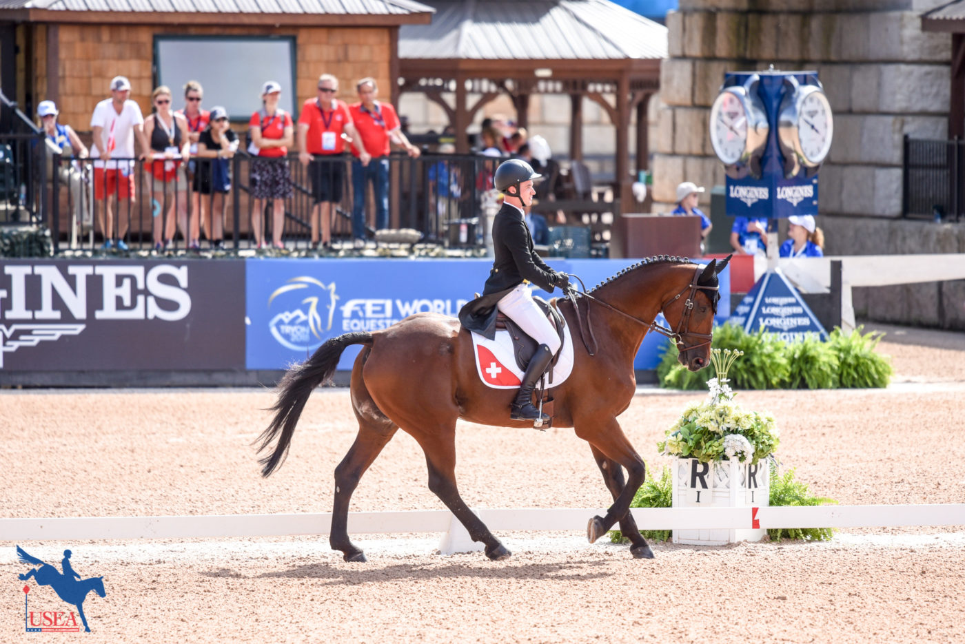24th - Robin Godel and Grandeur de Lully CH (SUI) - 34.2