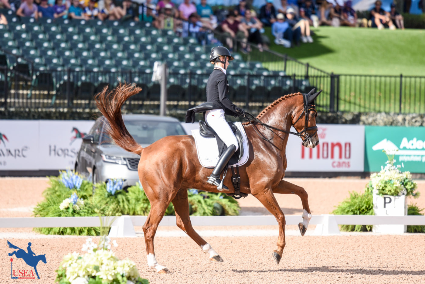 35th - Sandra Auffarth and Viamant du Matz (GER)