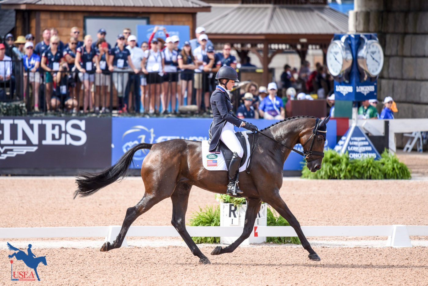 17th - Lynn Symansky and Donner (USA)