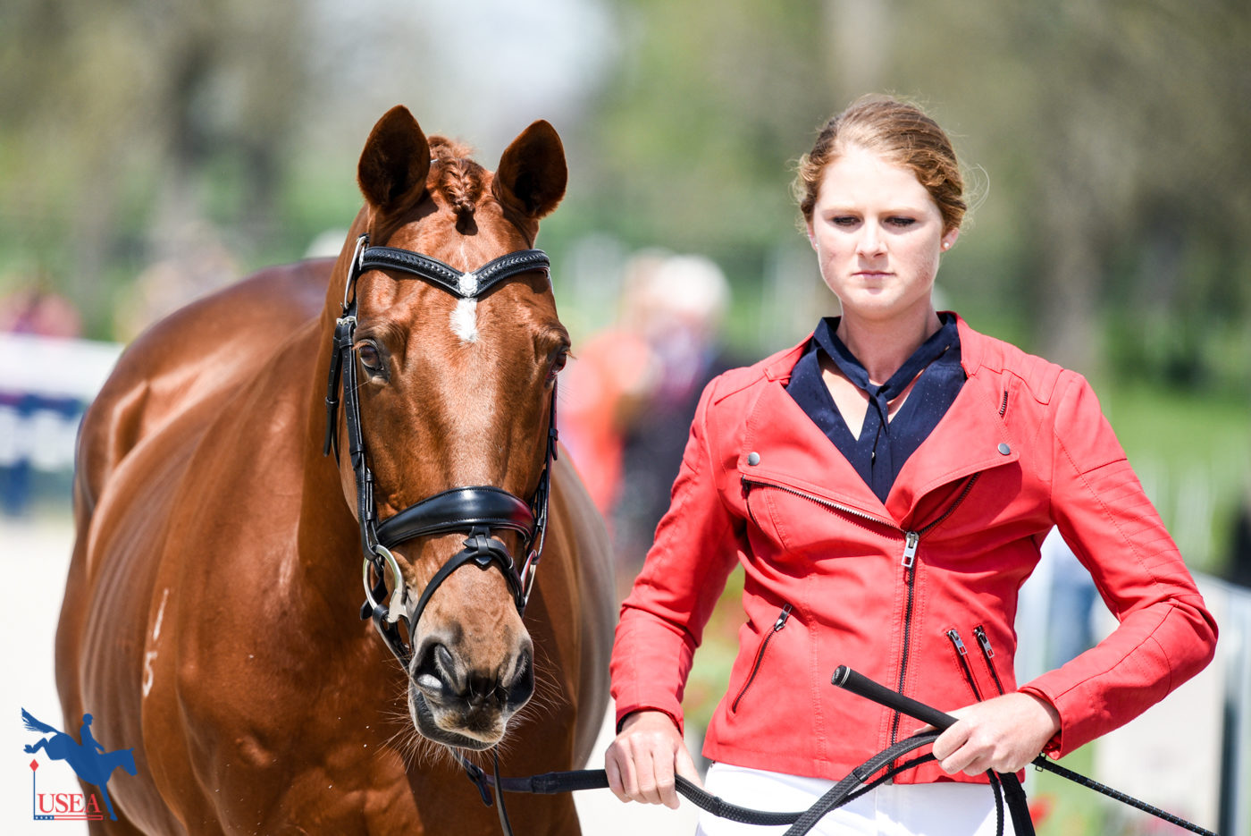 A perfect pair: Hazel Shannon and Willingapark Clifford. USEA/Leslie Mintz Photo.