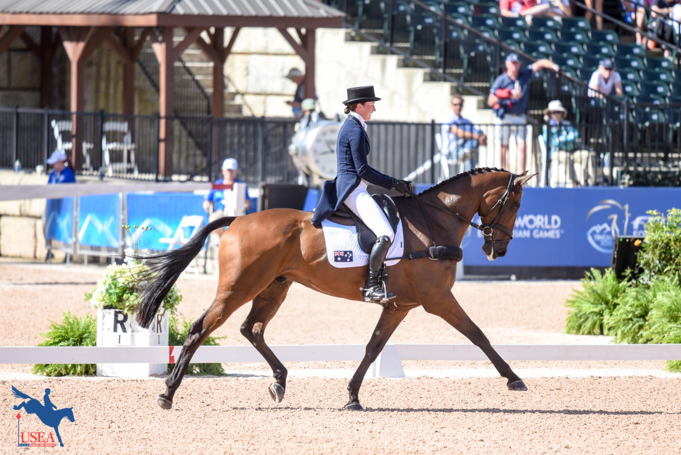 7th - Emma McNab and Fernhill Tabasco (AUS)