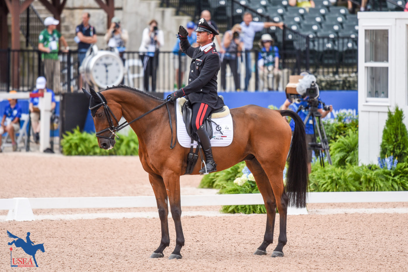 18thT - Stefano Brecciaroli and Byrnesgrove First Diamond (ITA)