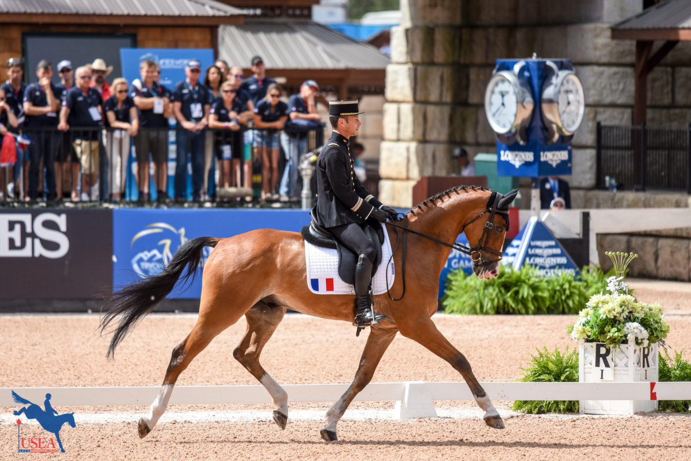 4th - Thibaut Vallette and Qing du Briot ENE HN (FRA)