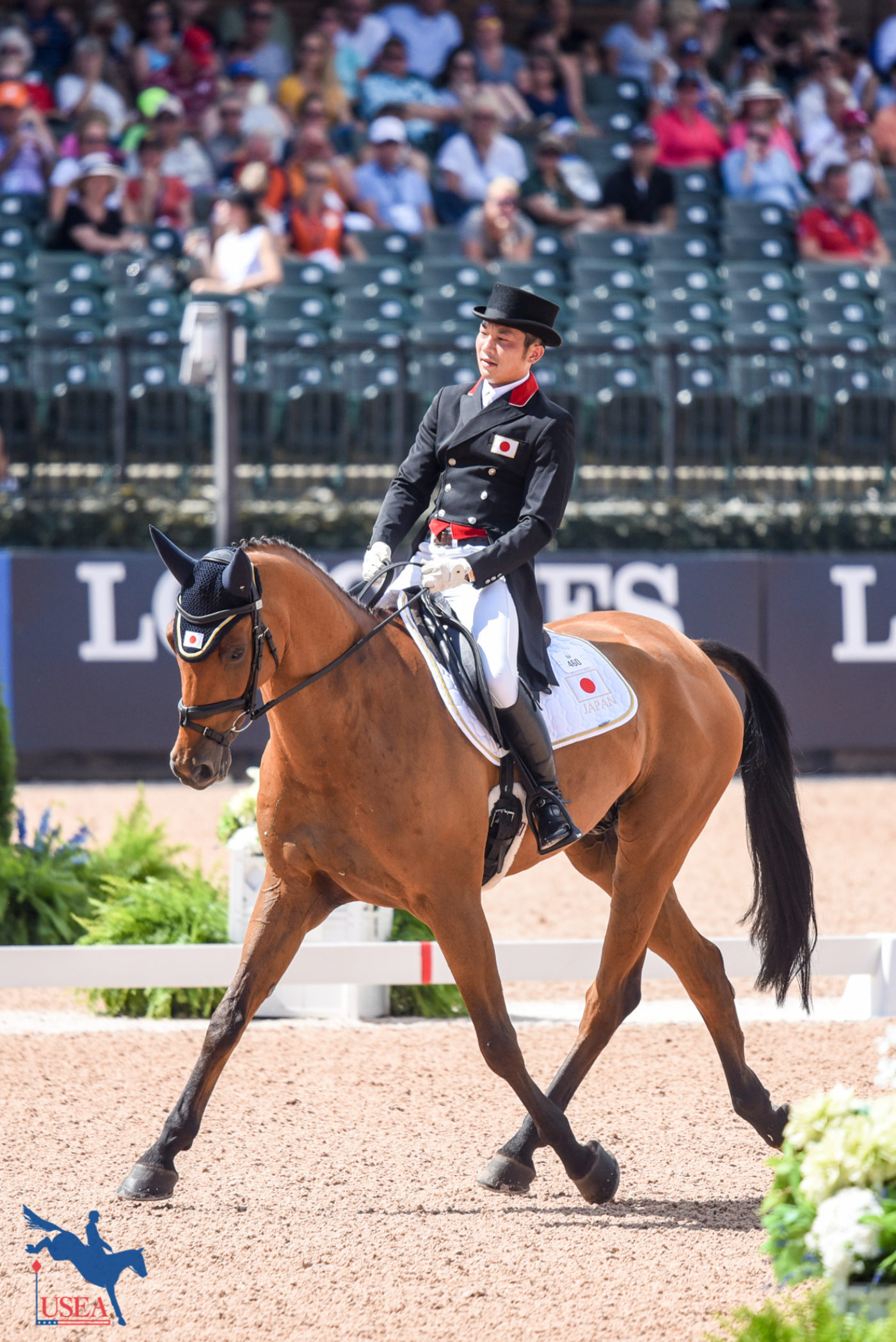 57th - Toshiyuki Tanaka and Talma d'Allou (JPN)