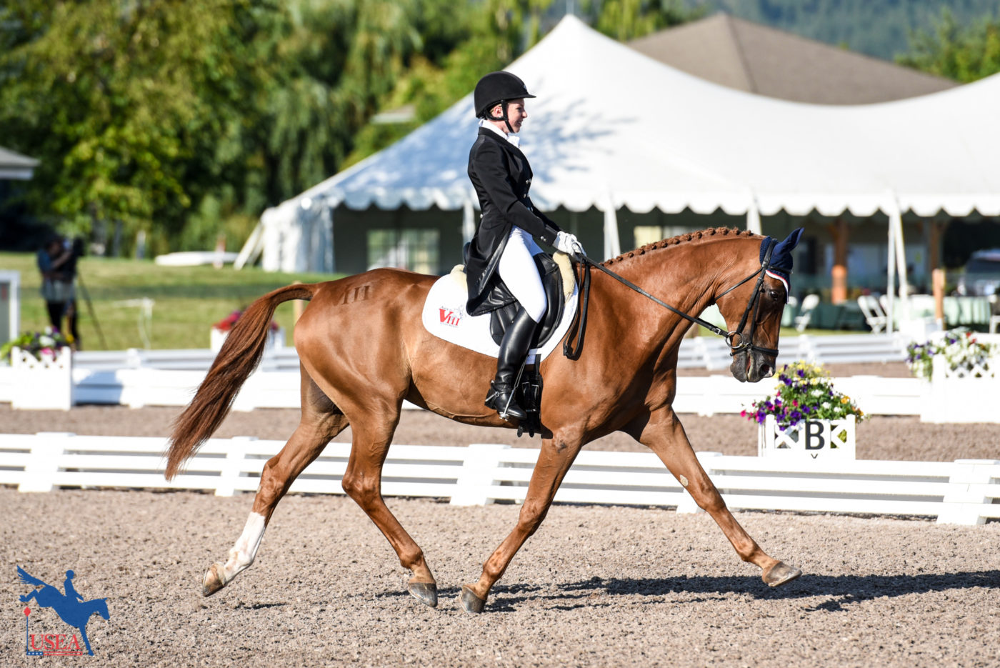 1st - Alexandra Baugh and Ballingowan Pizazz - 30.8