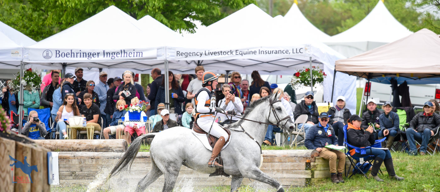 The Jersey Shore was a popular spectator spot on course at Jersey Fresh. USEA/Jessica Duffy Photo.