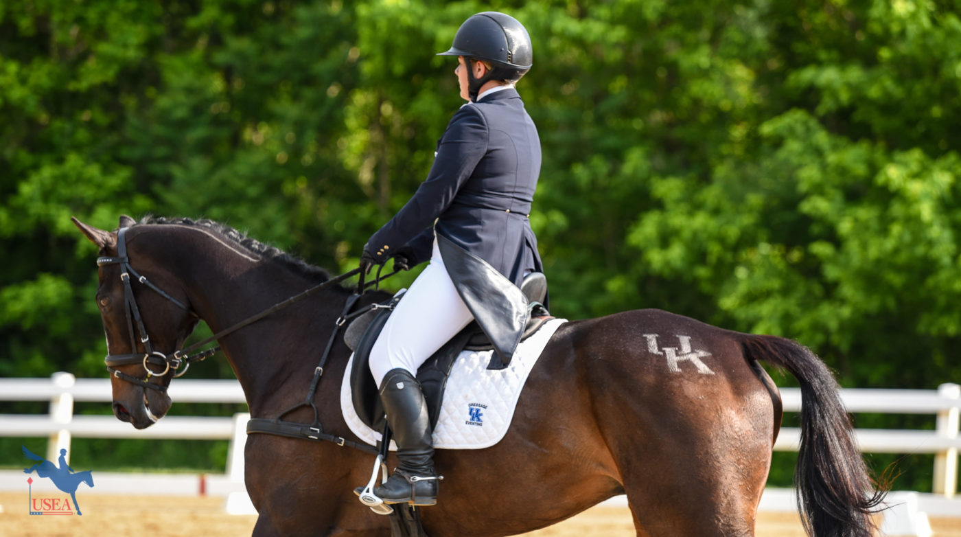 Riders for the University of Kentucky sported spiffy quartermarks all weekend. USEA/Jessica Duffy Photo.