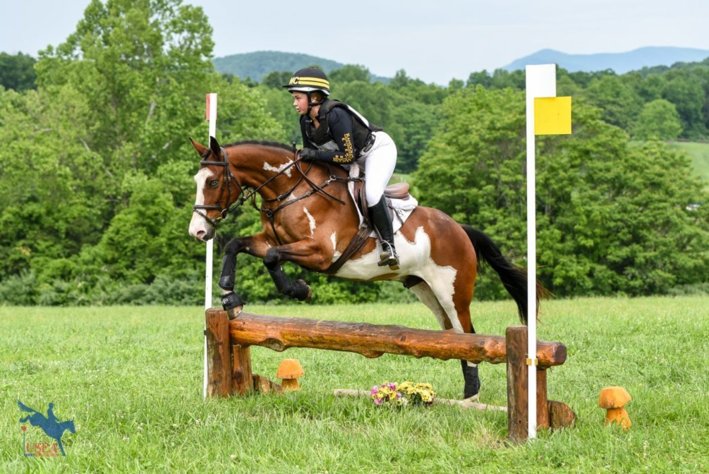 Emily Digney and Puzzle Master for Randolph Macon University. USEA/Jessica Duffy Photo.