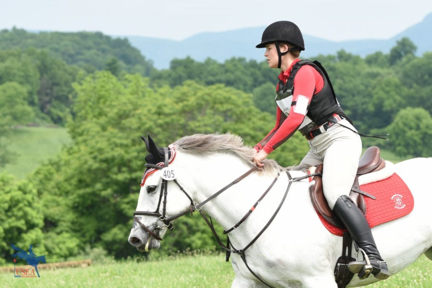 Maddie Edwards and Adelaide for NC State University. USEA/Jessica Duffy Photo.