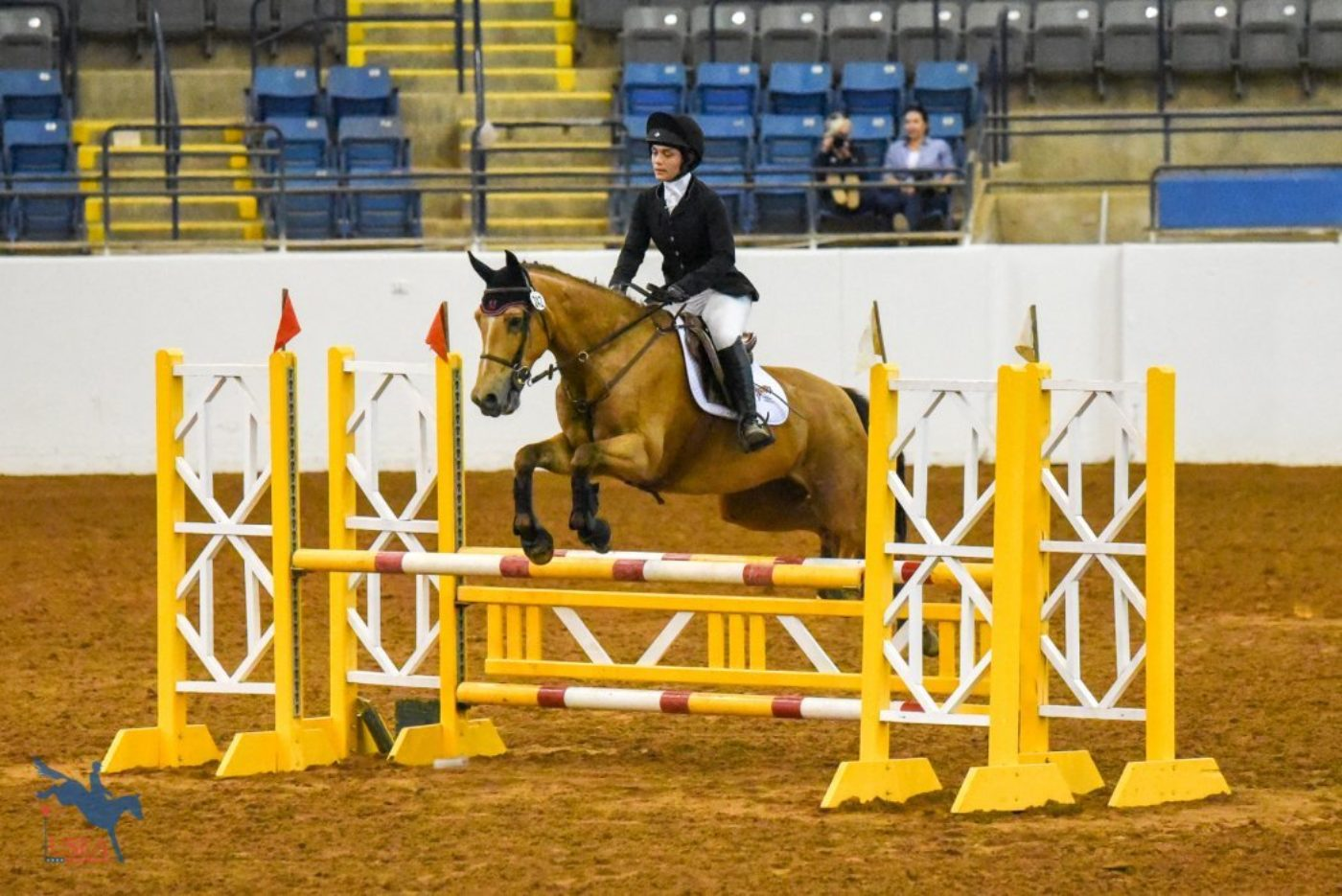 Tatiana Perez-Mojica and Duncan C's Waterford for the University of Maryland. USEA/Jessica Duffy Photo.