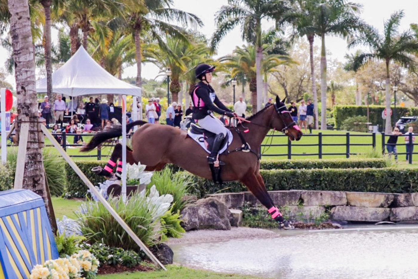 Charlotte Collier and Clifford M had the fastest round of the day. Samantha Clark Photo.