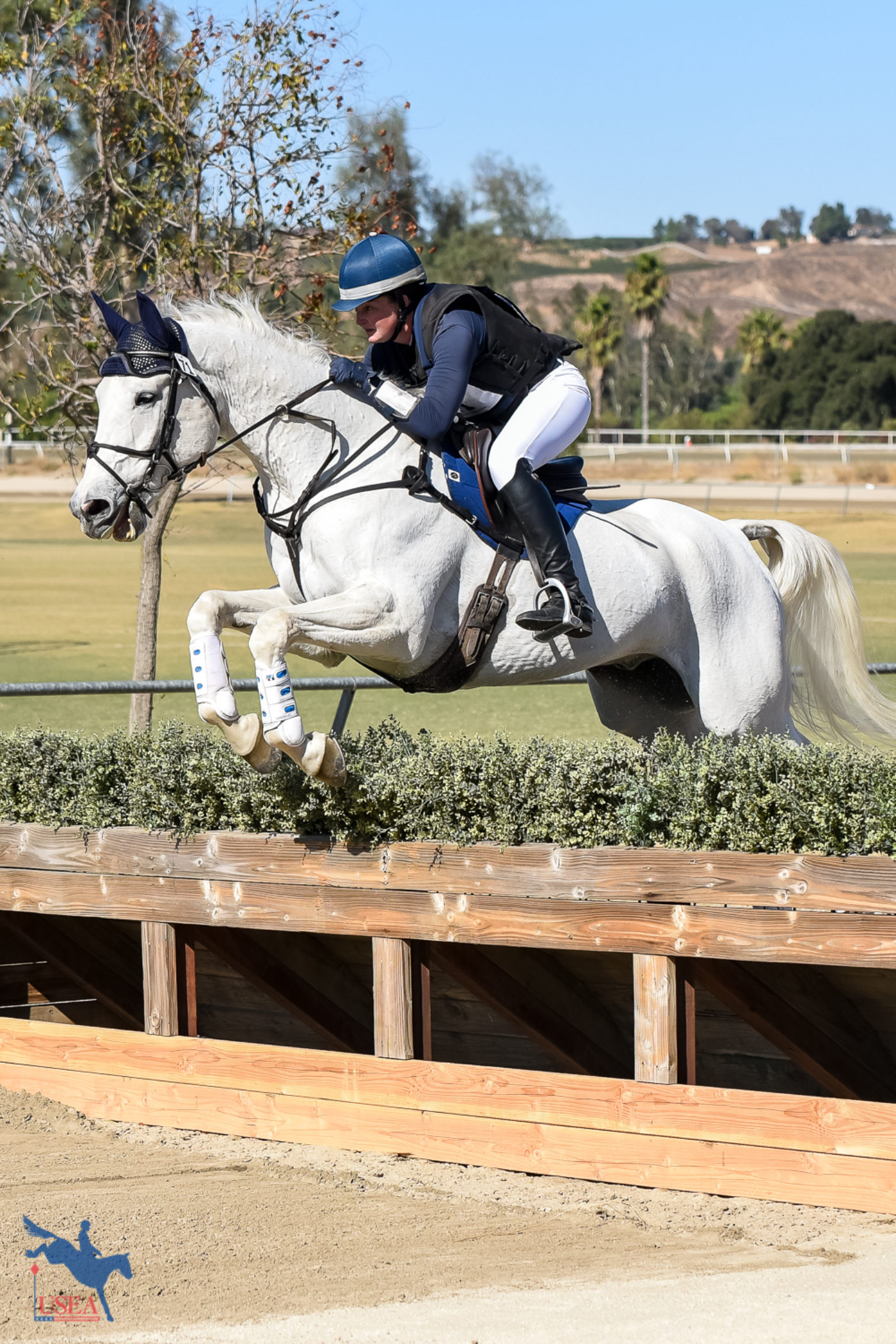The thrill of the 'chase! USEA/Jessica Duffy Photo.