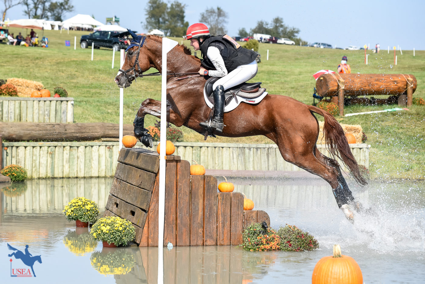 Mallory Hogan and Clarissa Purisima successfully completed their second CCI4*-S at Plantation Field. USEA/Jessica Duffy Photo.