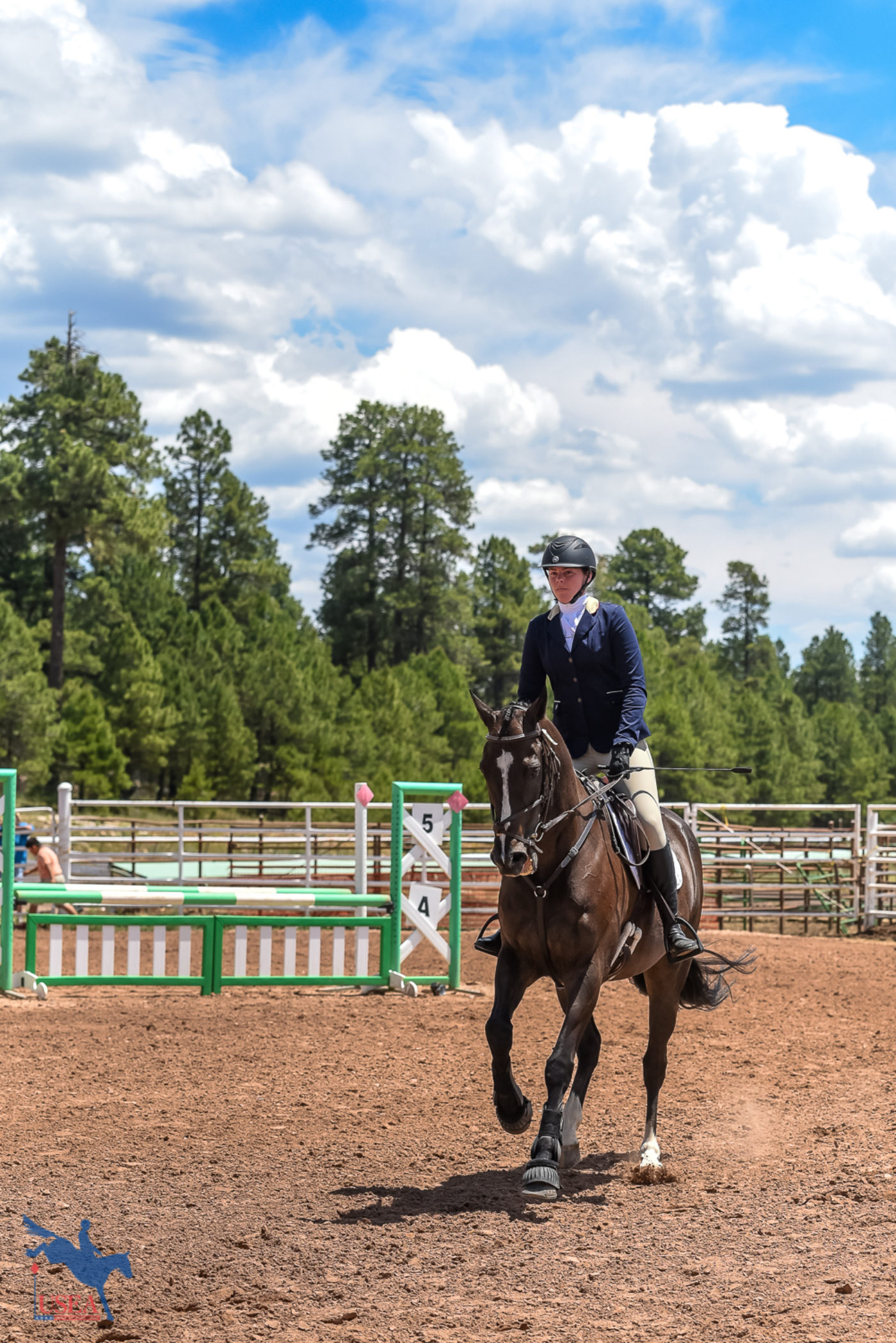 Fort Tuthill County Park provided quite the backdrop for the Classic Series Three-Day Event. USEA/Jessica Duffy Photo.
