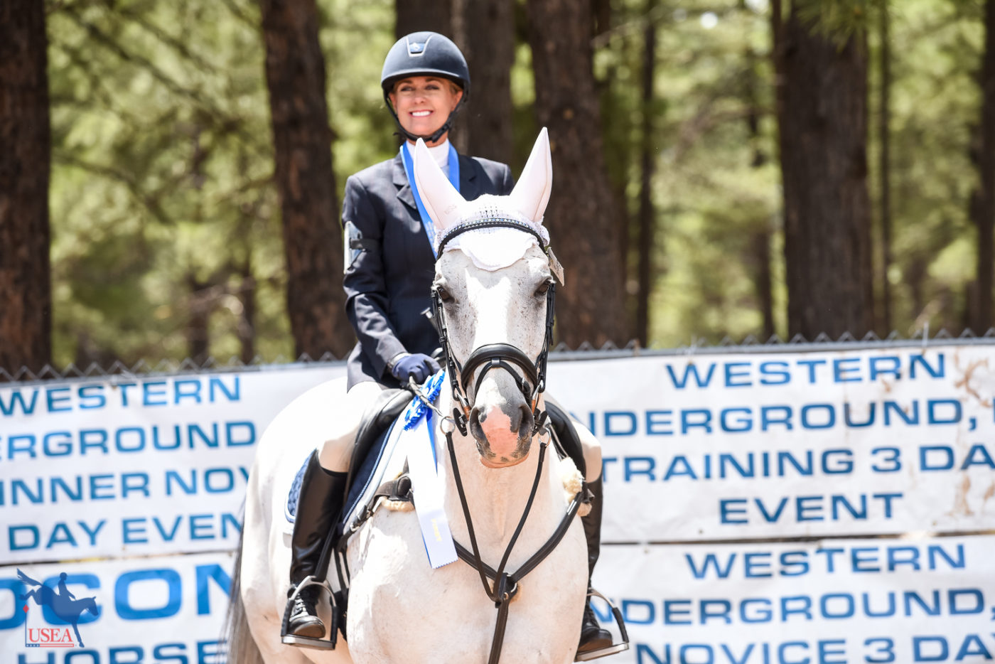 Winner winner chicken dinner! USEA/Jessica Duffy Photo.