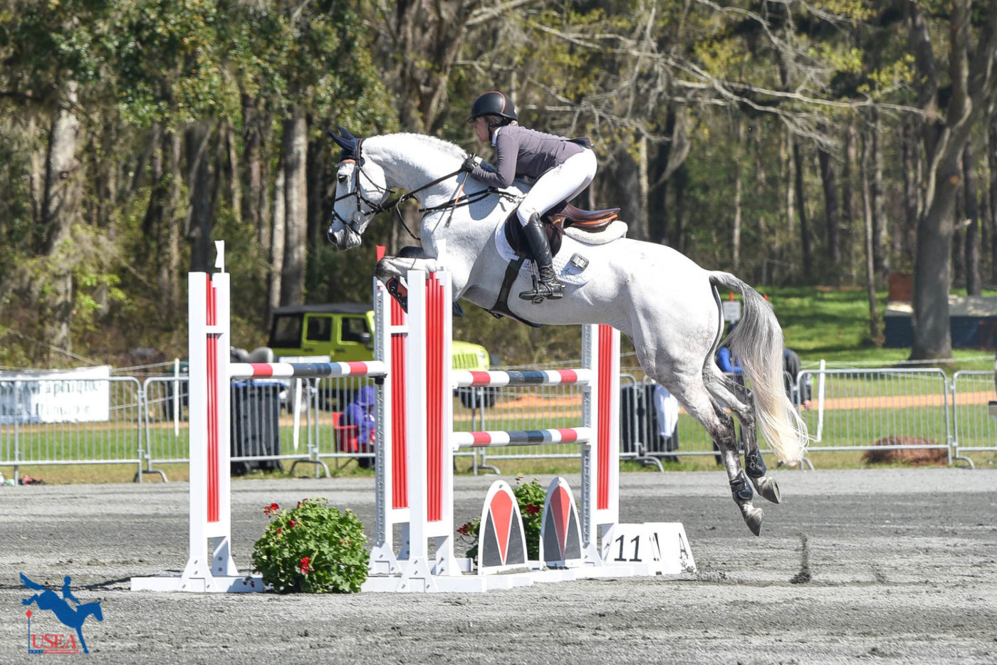 Sharon White and Cooley On Show win the CCI4*-S! USEA/Kate Lokey photo.