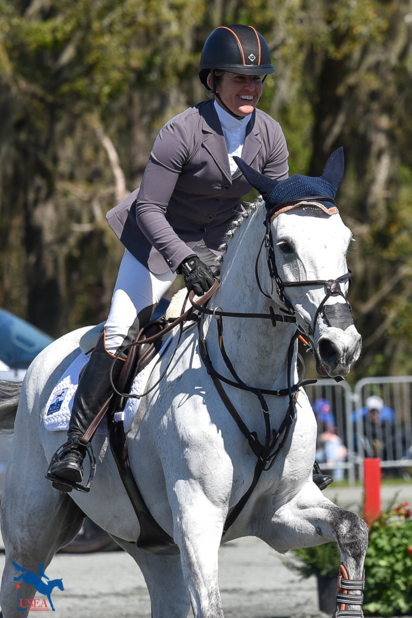 Happy champion! USEA/Kate Lokey photo.