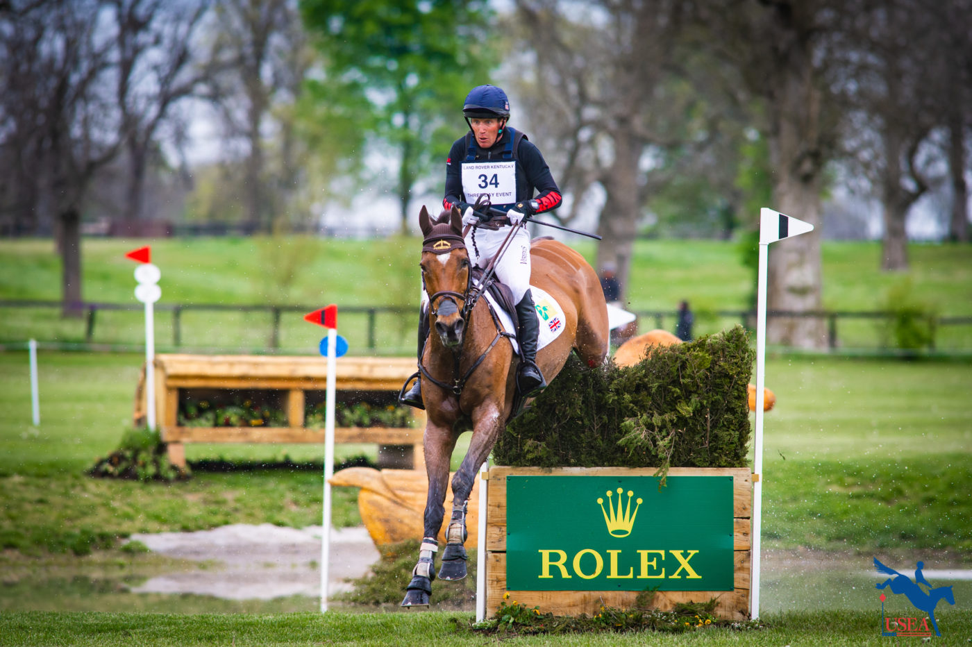 CCI5*-L - 8th - Oliver Townend and Cooley Master Class. Erin Gilmore Photo.