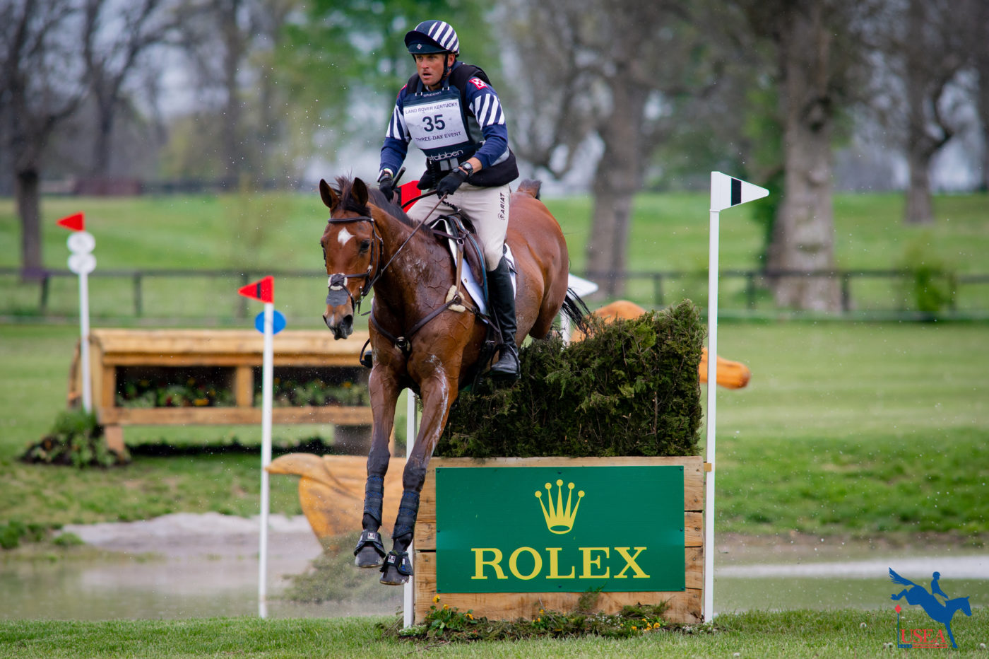 CCI5*-L - 2nd - Boyd Martin and On Cue. Erin Gilmore Photo.