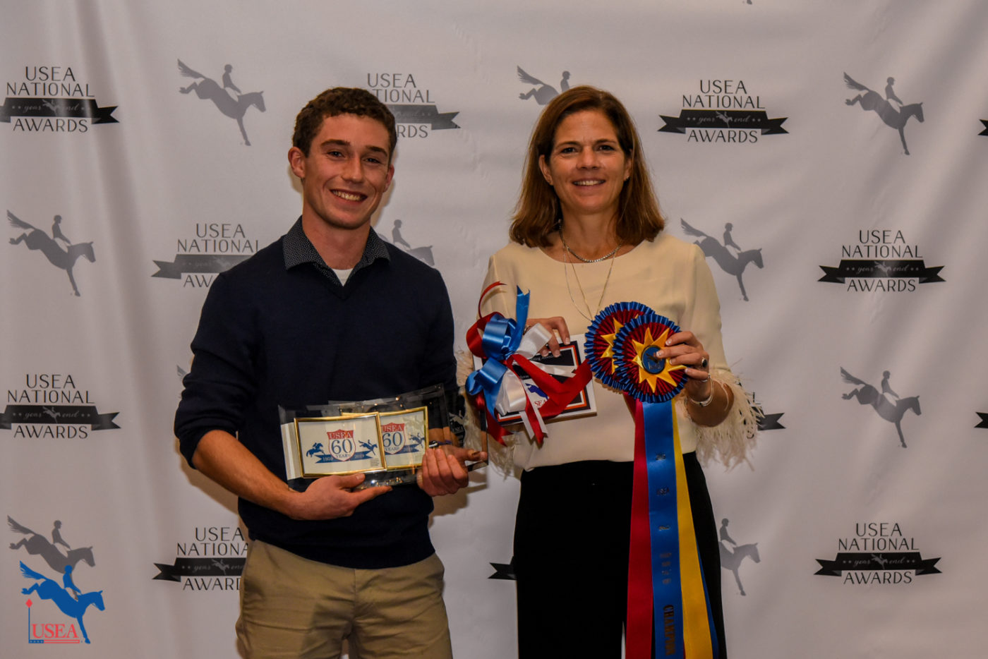 Training Young Adult Rider of the Year, Jackson Dillard. Jackson is the owner and rider of the Training Horse of the Year, Layla Q.