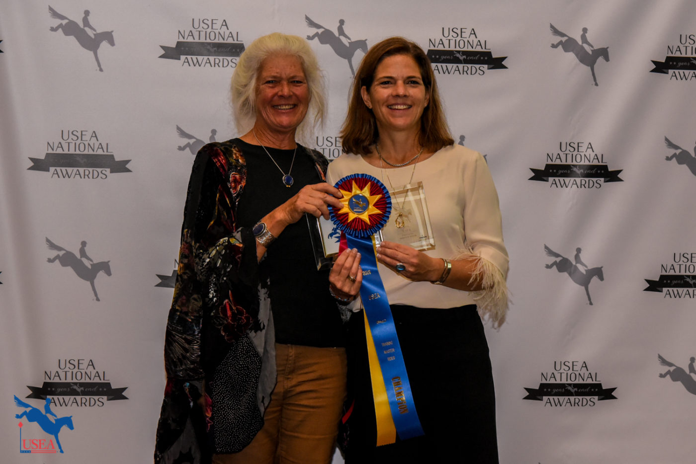 Training Master Rider of the Year, Dr. Jennifer Miller.