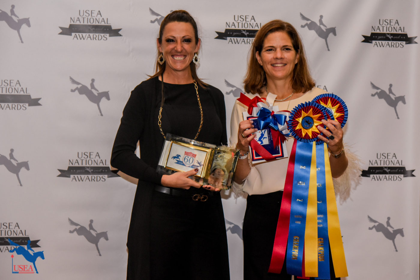 Modified Adult Rider and Modified Adult Amateur Rider of the Year, Katie Malensek riding her own Landjaeger, the 2019 Modified Horse of the Year.