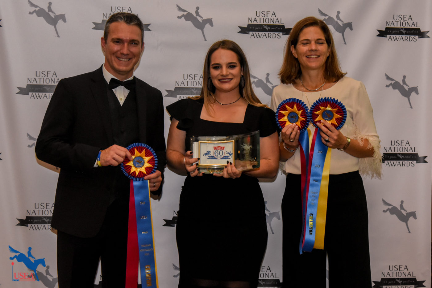 Preliminary Young Adult Rider of the Year, Jackie LeMastus. Jackie is also the Preliminary and Intermediate Intercollegiate Rider of the Year.