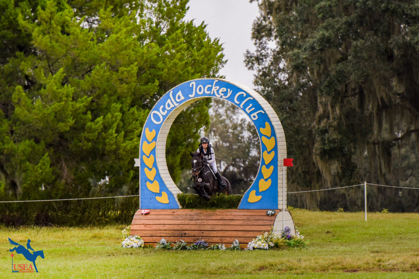 All of the levels jumped the iconic Ocala Jockey Club keyhole.