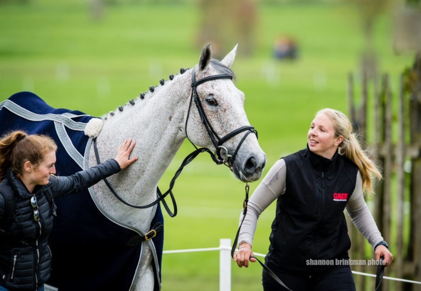 Ballaghmor gets gets some attention after his test