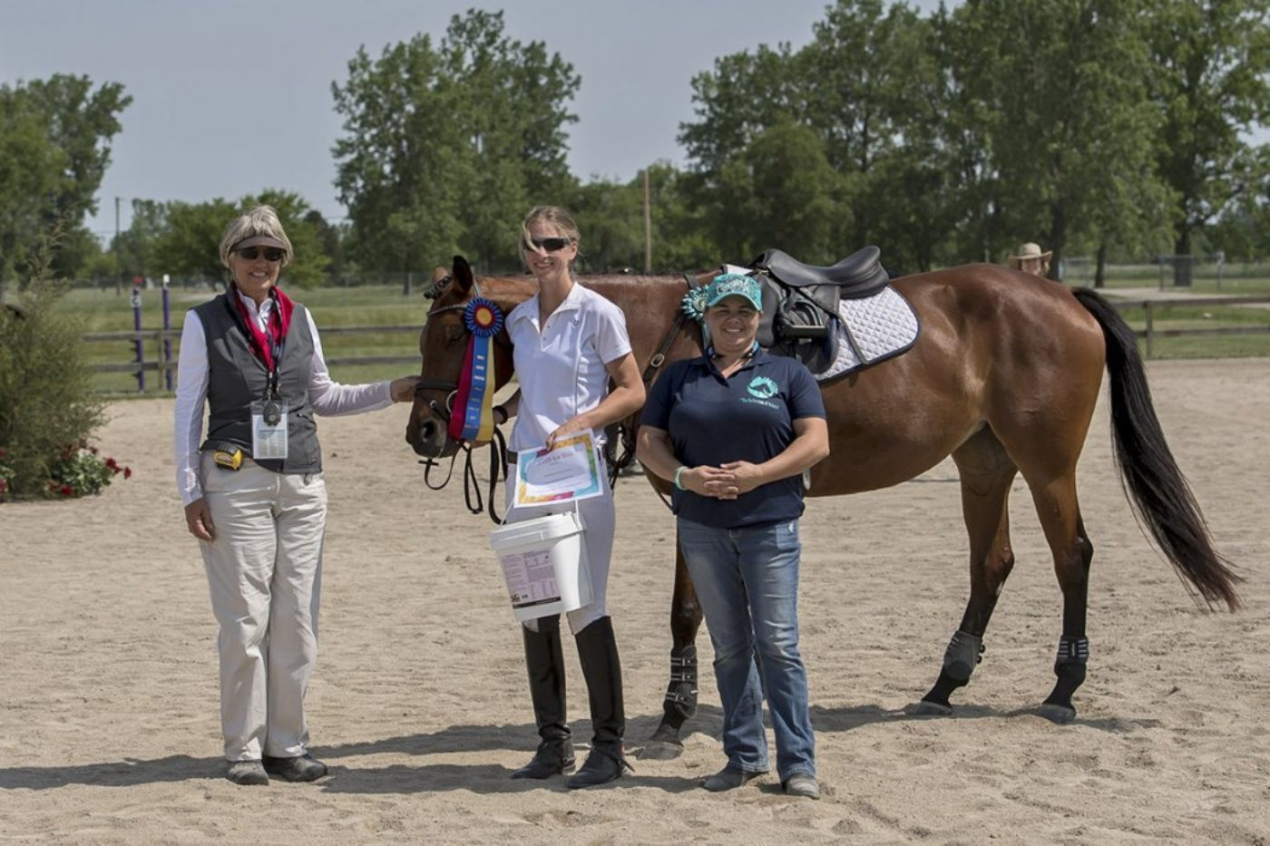 T3D - Best Conditioned - Natasha Erschen and Emerald Lion. Allen MacMillan Photo.