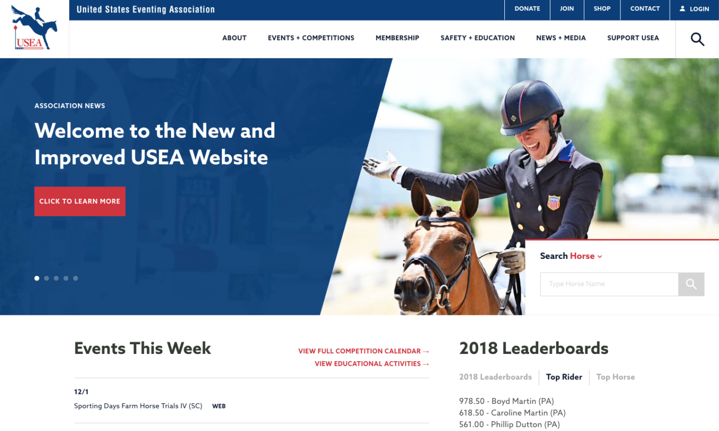usea launches new and improved website usea united states