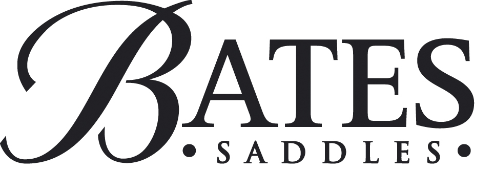 Bates saddle logo bw